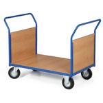 Stavebnicové plošinové vozíky